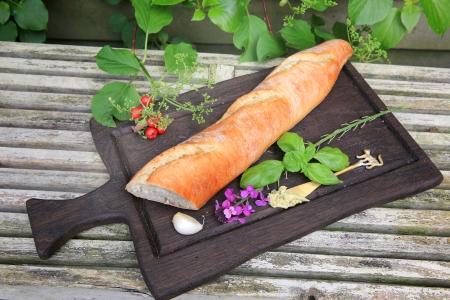 broodje op plank
